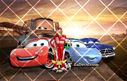 Cars Poster za Decu