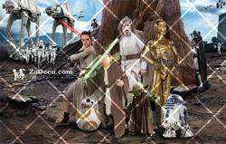Star Wars Poster za Decu